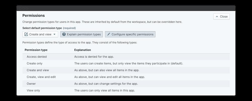 know your team survey permissions