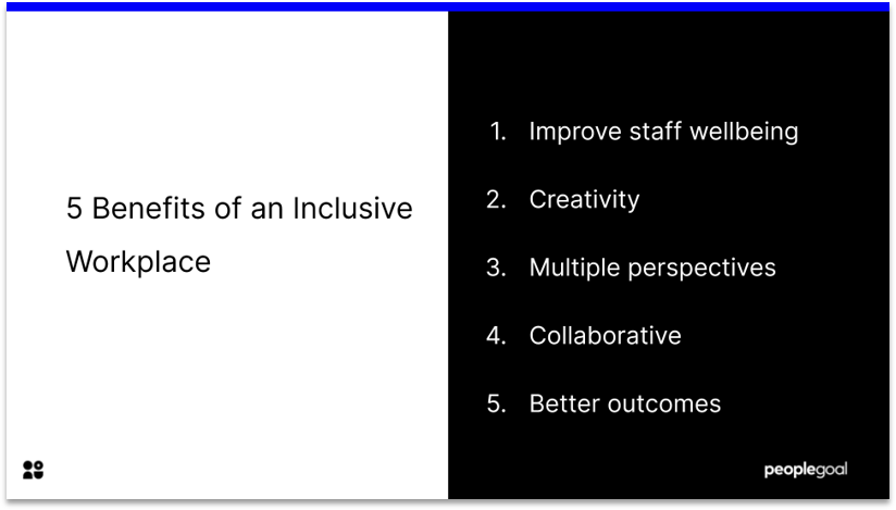 Benefits of an Inclusive Workplace Diversity and Inclusion