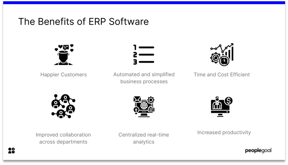 The benefits of ERP software