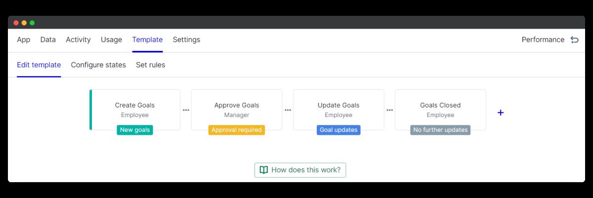 smart goals - edit template