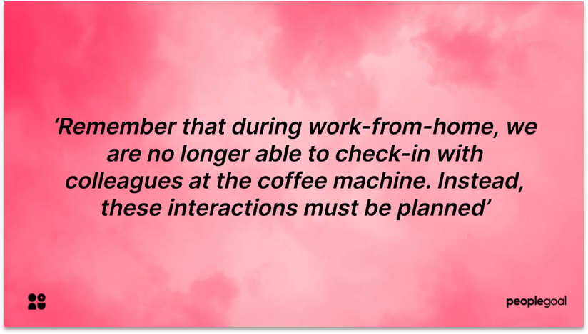 Remote Employee Communications quote