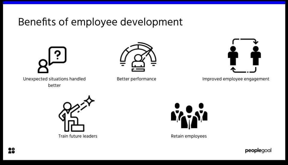 Employee development - BENEFITS