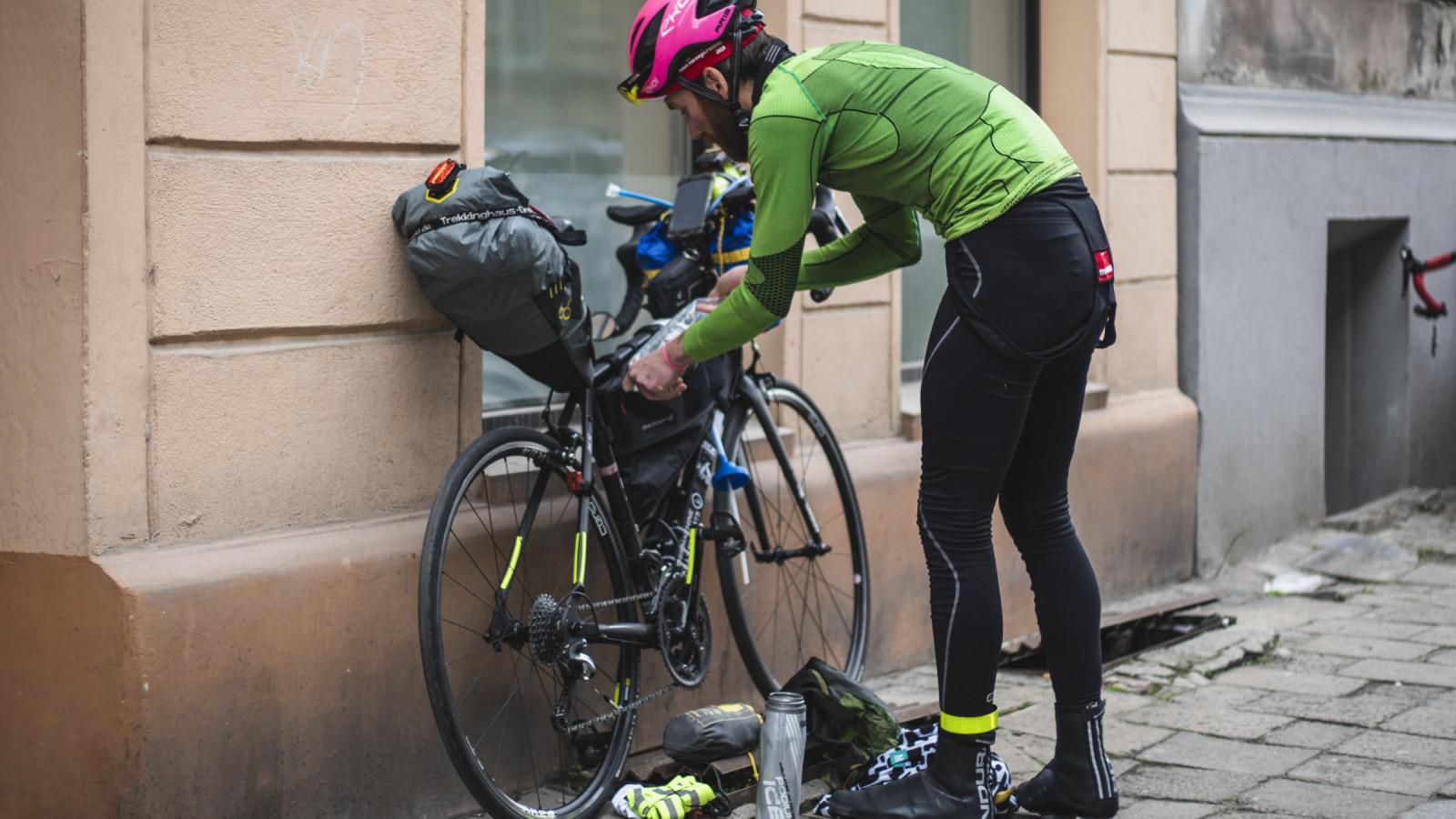 Bikes of Race Through Poland