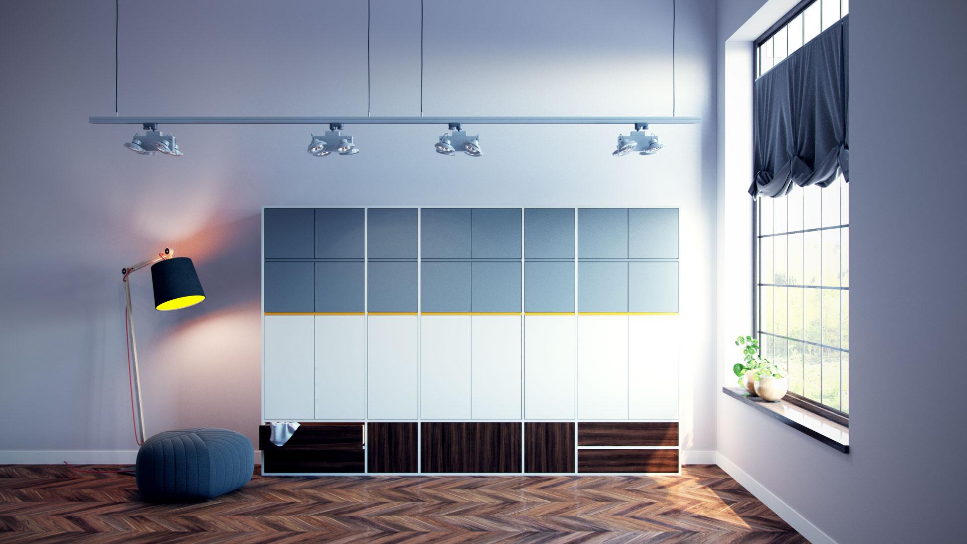 Placards configurer armoire par mycs - Concevoir un placard ...