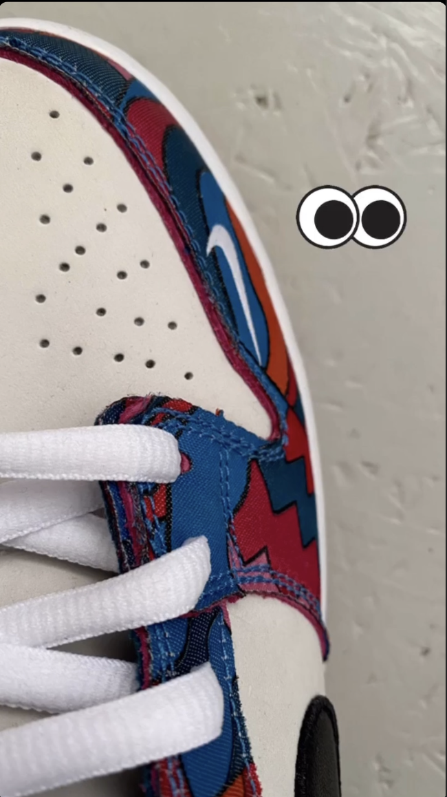 ARTIST PIET PARRA TEASES POTENTIAL UPCOMING NIKE DUNK