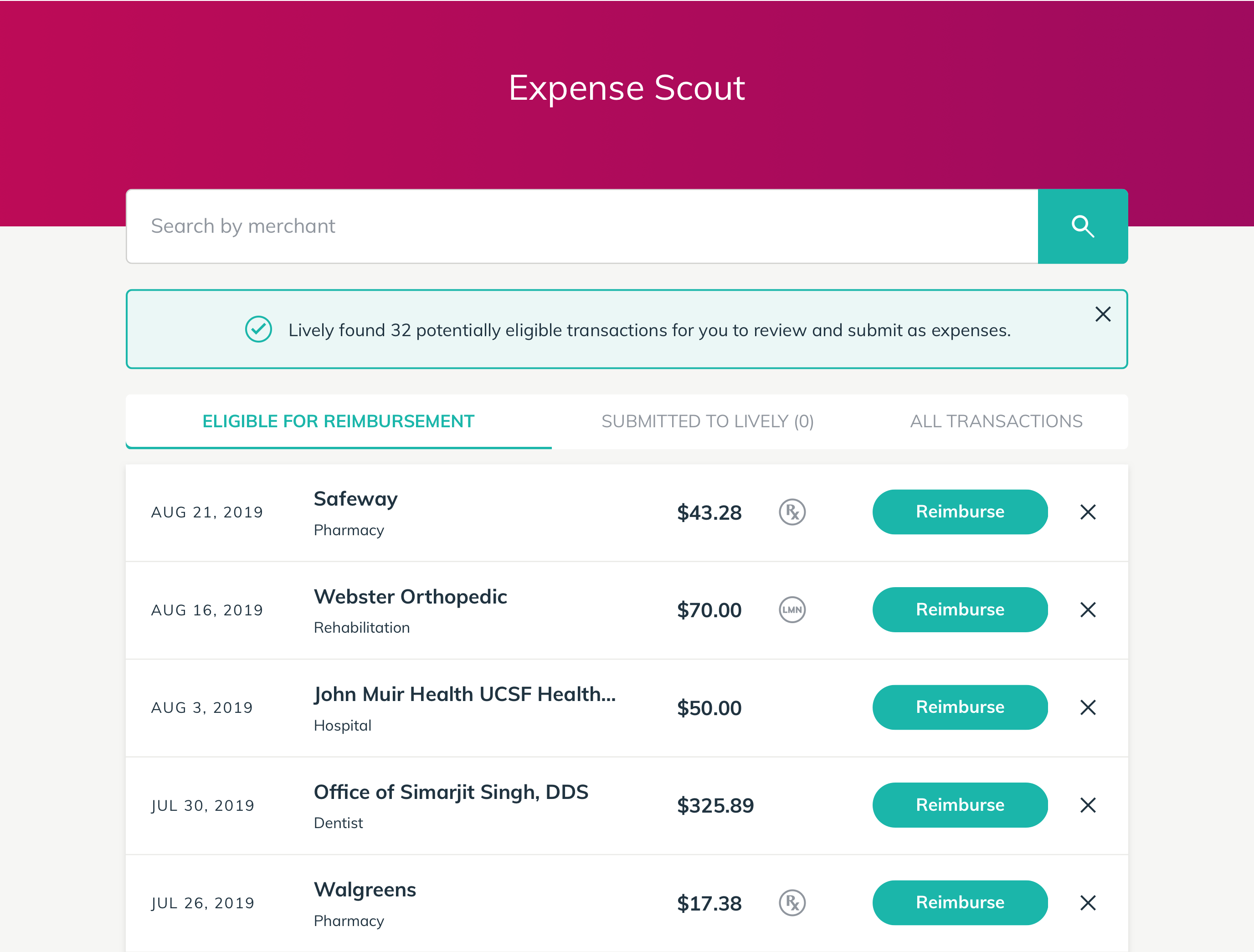 Expense Scout