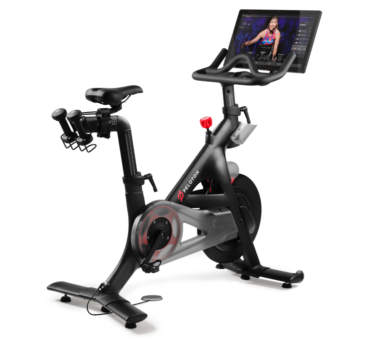 Peloton®   Indoor Exercise Bike with Online Streaming Classes.