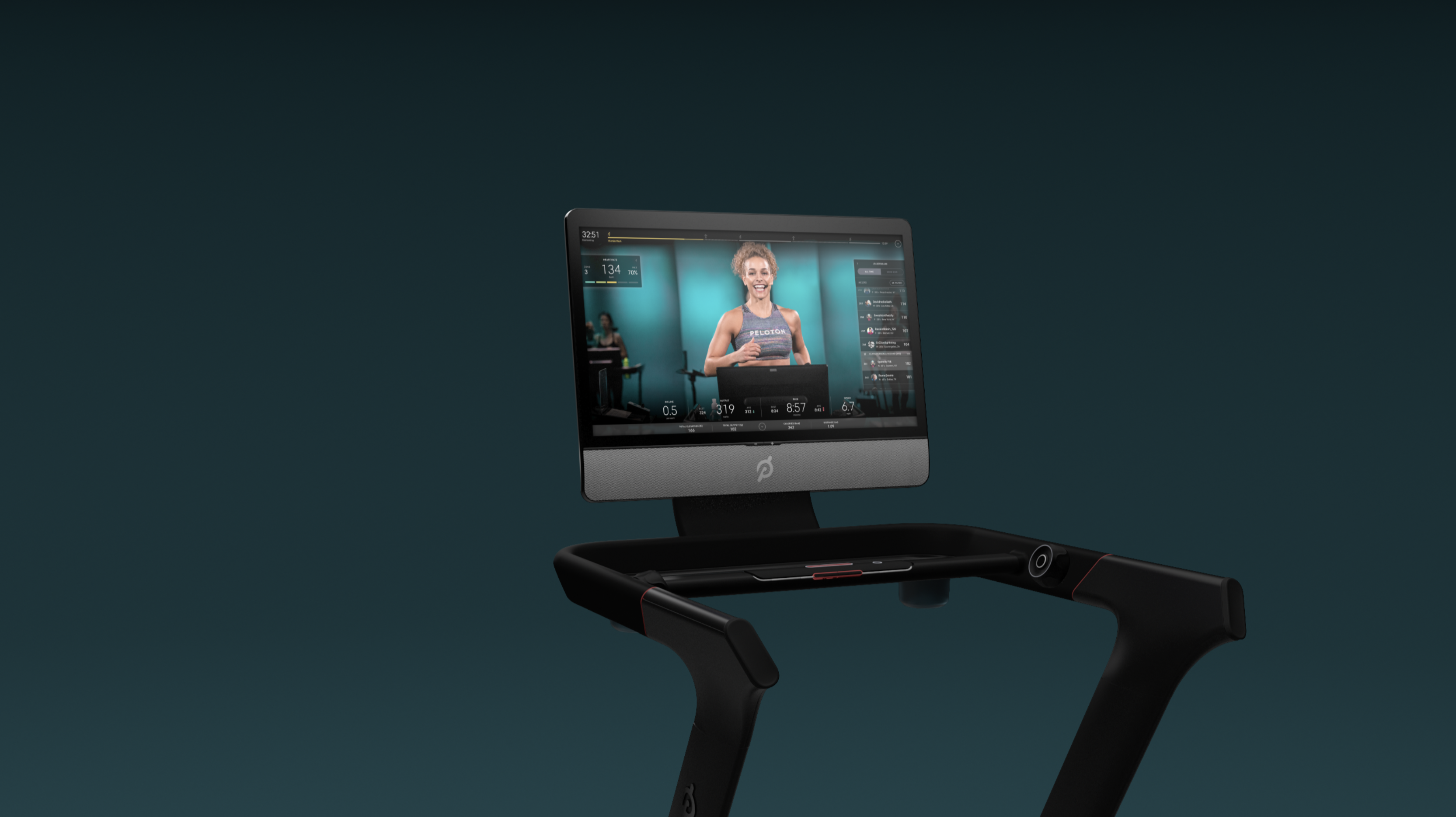 Peloton® Tread | Total-Body Training Streamed Live & On-Demand