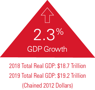 2019 Industry Report - GDP 2.3% Growth