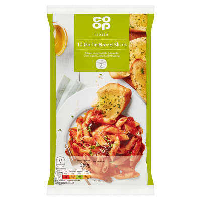 Co-op Garlic Slices 10 Pack
