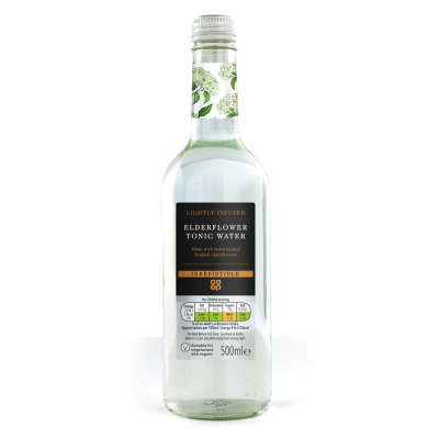 Co-op Irresistible Elderflower Tonic 500ml