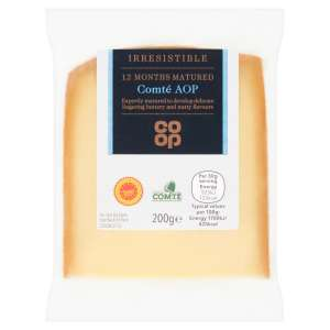 Co-op Irresistible Comté Cheese 200g