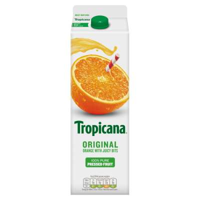 Tropicana Pure Premium Orange Original With Juicy Bits 950ml
