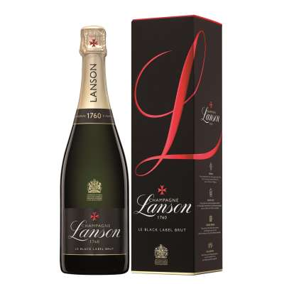 Lanson Black Label Champagne Gift Box