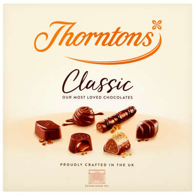 Thorntons Classic Assorted Chocolates Gift Box 150g