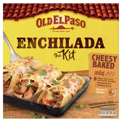 Old El Paso Enchilada Dinner Kit 663g