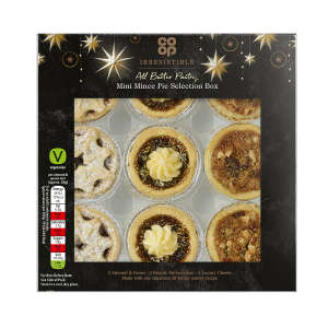 Co-op Irresistible Mini Mince Pie Selection Box 9 Pack