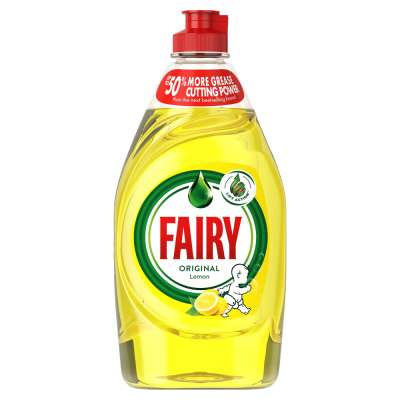 Fairy Washing Up Liquid Lemon 500ml