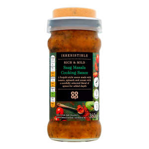 Co-op Irresistible Saag Masala 360g
