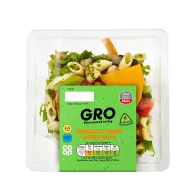 GRO Chargrilled Squash Layered Salad 317g