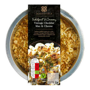Co-op Irresistible Macaroni Cheese 350g