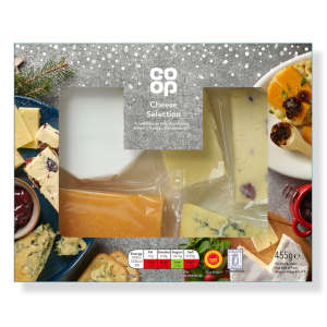 Co-op Christmas Cheese Selection 455g