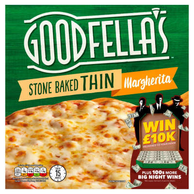 Goodfellas Stonebaked Thin Margherita Pizza 345g