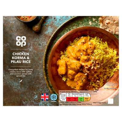 Co-op Chicken Korma And Rice 425g