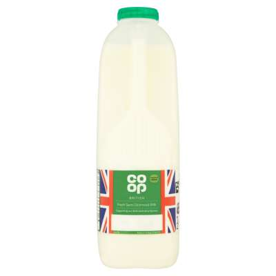 Co-op British Fresh Semi-Skimmed Milk 2 Pints