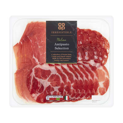 Co-op Irresistible Italian Selection 140g