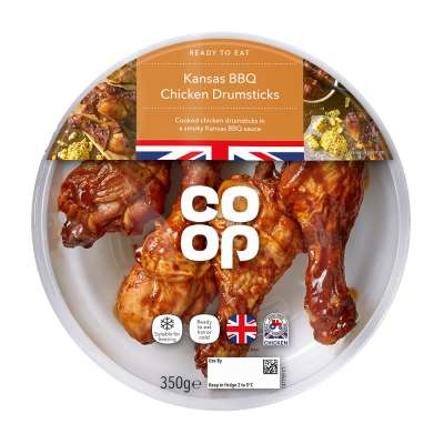 Co-op Kansas BBQ Drums 350g