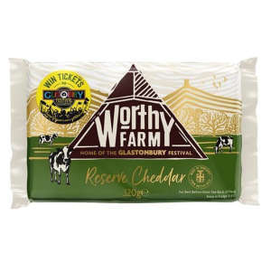 Worthy Farm Reserve Cheddar Cheese 320g