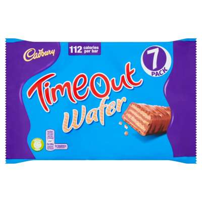 Cadbury Time Out 7 Pack 148.4g