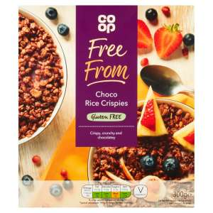 Co-op Free From Choco Rice Crispies 300g - Gluten Free