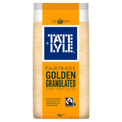 Tate and Lyle Fairtrade Golden Granulated Sugar 1kg