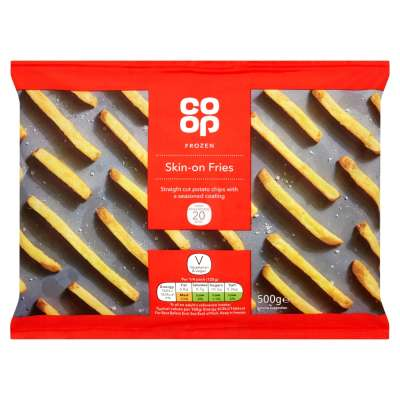 Co-op Skin On Fries 500g