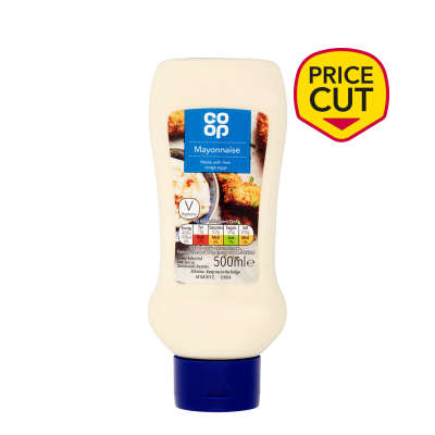Co-op Real Mayonnaise Squeezy 500ml