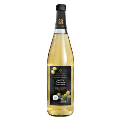 Co-op Irresistible Sparkling Chardonnay Grape Juice 750ml