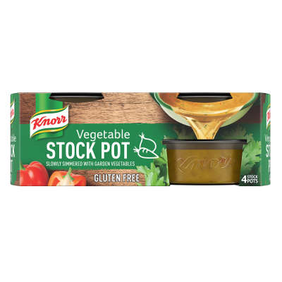 Knorr Vegetable Stock Pot 4x28g