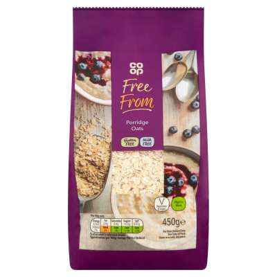 Co-op Free From Porridge Oats 450g - Gluten and Milk Free