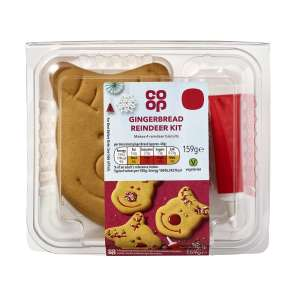 Co-op Decorate Your Own Gingerbread Reindeer kit