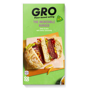 GRO The Incredible Burger 210g