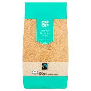 Co-op Fairtrade Demerara Sugar 500g