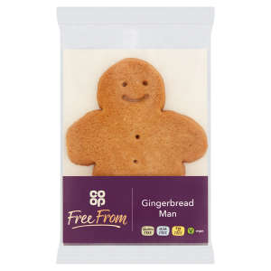 Co-op Free From Gingerbread Man 50g - Gluten, Milk & Egg Free
