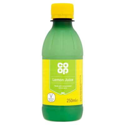 Co-op Lemon Juice 250ml