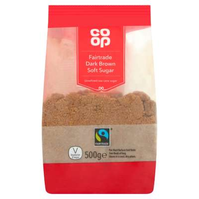 Co-op Fairtrade Dark Brown Sugar 500g