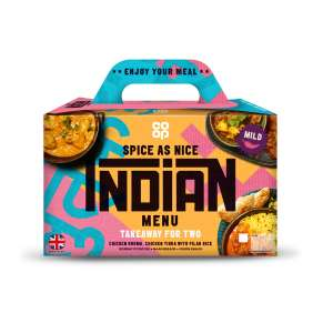 Co-op Indian Box Takeaway for Two 1.33kg