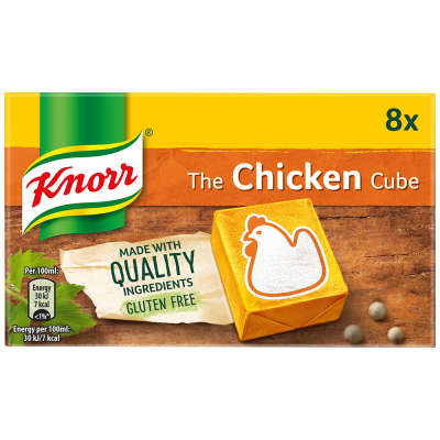 Knorr 8 Chicken Stock Cubes 80g