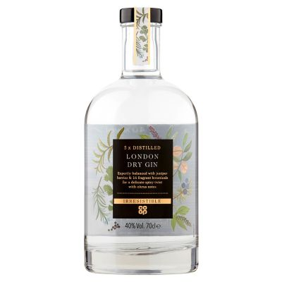 Co-op Irresistible Premium Gin  70cl