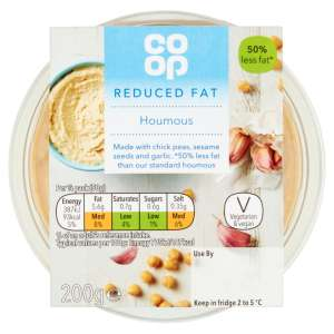 Co-op Reduced Fat Houmous Dip 200g